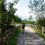 """Los puentes y zonas """"peligrosas"""" están perfectamente protegidos con vallas de madera"""