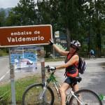 Llegada al Embalse de Valdemurio