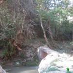 Puente que cruzaremos para llegar al Molino de la Hoz