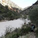 Salida al lecho del río