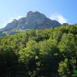 Montañas junto a las que caminamos