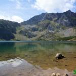 Llegada al Lago del Valle