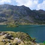 Vista del lago desde la Cabaña Cobrana