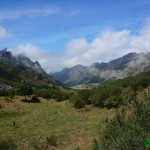 Vista del valle desde el camino de regreso