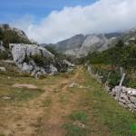Camino de bajada a Valle de Lago