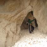 Entrada a Cova Santa