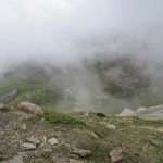 Niebla en la estación de Aret