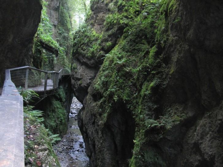 Garganta de Kakueta y Puente Colgante de Holtzarte