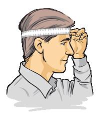 Medida de la cabeza