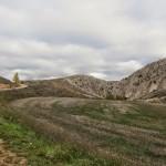 Pista hacia Cuevas de Almudén