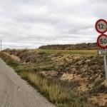 Dejamos la carretera para tomar el camino rural