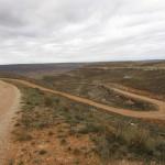 Subida por pista por Camino del Barranco Martín