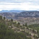 Vista desde la parte alta del barranco