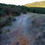 Inicio de la ruta desde la parte alta de Bronchales
