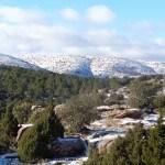 Vistas del paisaje nevado