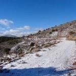 Ultimo tramo de subida por el camino antiguo de Gea a Albarracín