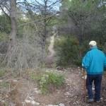 Camino hacia el poblado del Puig