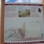 Panel informativo del poblado del Puig