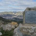 Vista de Alcoy desde el poblado del Puig