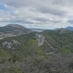 Vista de la Serreta y la Serrella