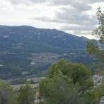 El Castellar, vista de la Font Roja
