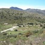 Vista del sendero hacia la Cueva del Somo
