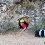 Primera entrada a la Cova de les Pedres Boniques