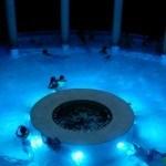 Piscina de la cúpula del Aquaxana