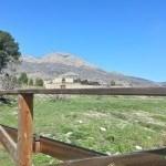 El Benicadell desde la Albufera de Gaianes