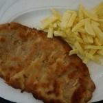 Cachopo de setas con jamón serrano y queso de Oscos