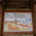 Panel informativo del Paso de Olinches