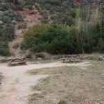 Zona recreativa desde la que regresaremos al paso de Olinches