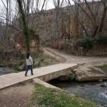 Puente para cruzar el rio hacia la Fabrica de la Luz