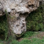Rocas junto al rio
