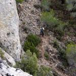 Bajando al Barranc de les Coves - Alcoi
