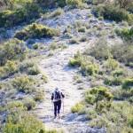 Subiendo hacia el Pilar de Ximo