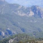 El Castellar y las rocas dels Canalons