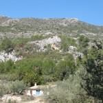 Casita y vista de la Cova del Moro - Turballos