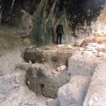 Barranc de les Coves , l'abric de la Falguera - Alcoi