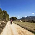Pista desde el Mas del Xocolater a la carretera de Banyeres (CV-795)