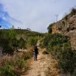 Desde el inicio hacia el cañón del Turia