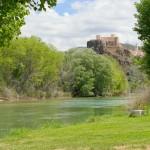 Río Cabriel y Castillo de Cofrentes