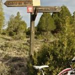 Indicador hacia Alcalá de la Selva