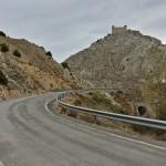 Tramo de carretera hacia Alcalá de la Selva