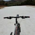 Las pistas todavía tienen nieve en Mayo, aunque ya están cerradas