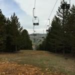 Telesillas de la estación de esquí de Valdelinares