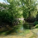 El río es precioso
