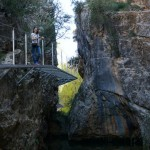 Pasarela sobre el río Guadalaviar