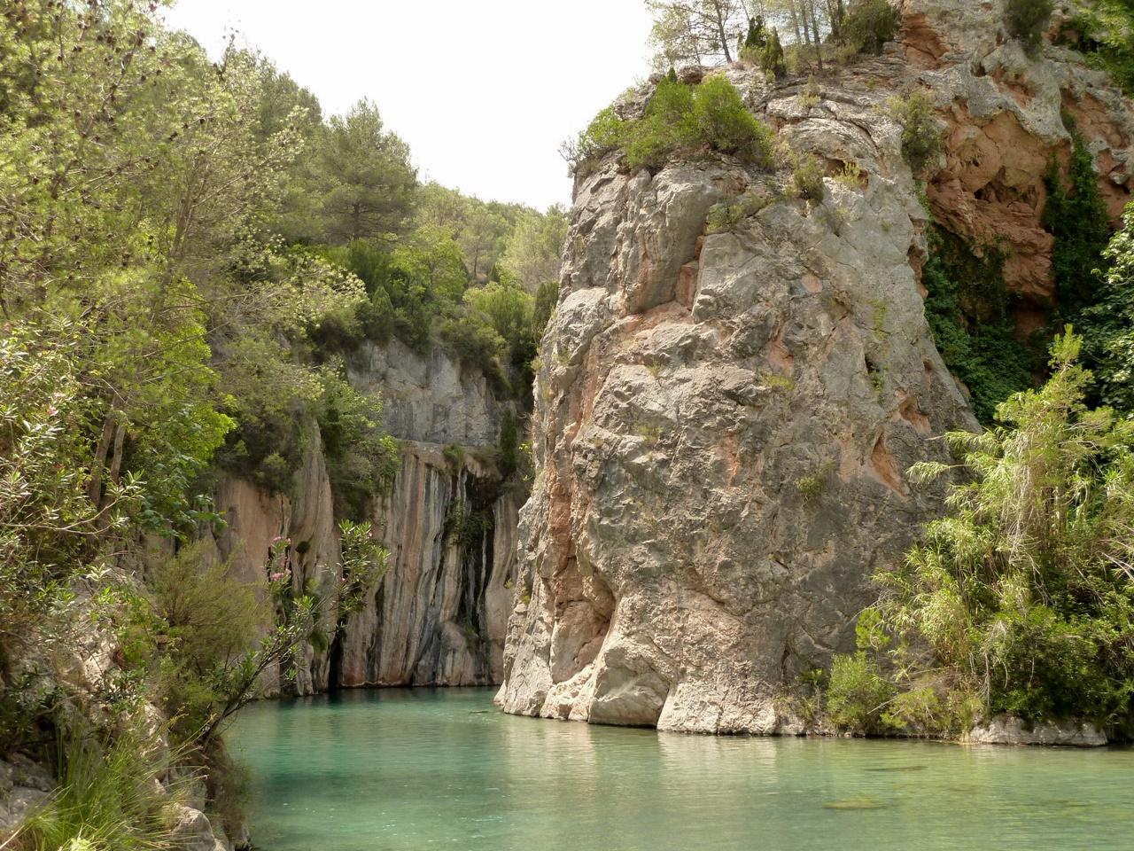 La fuente de los baños, Montanejos (Castellón)