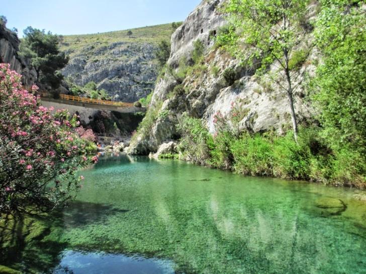 piscinas naturales de la comunidad valenciana